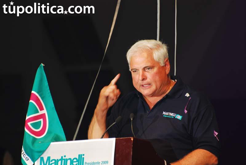 Presidente Ricardo Martinelli