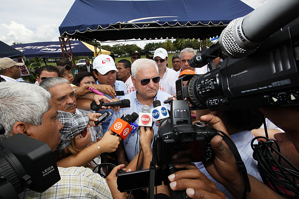 Presidente Ricardo Martinelli en Chiriquí