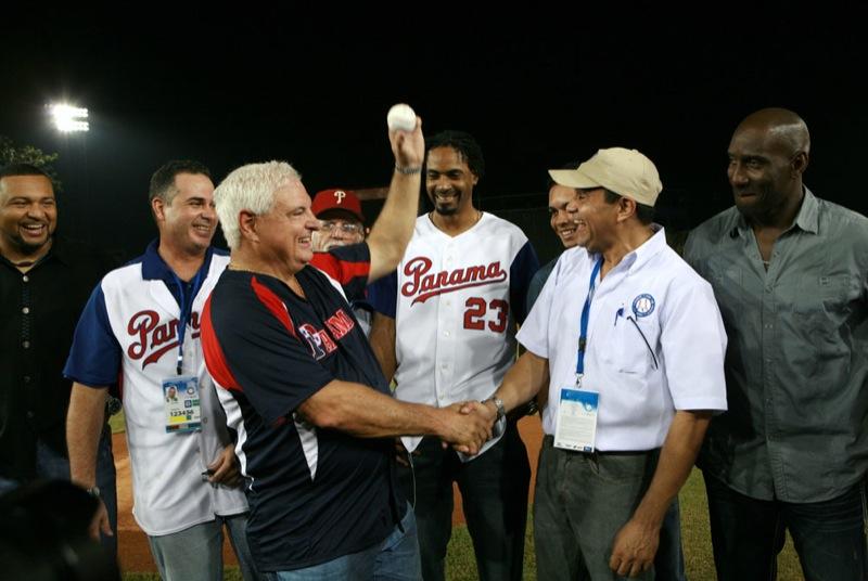 Presidente Martinelli en el Mundial de Baseball Panamá 2011