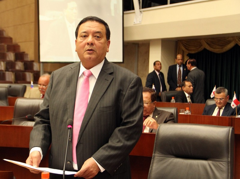 H.D. Héctor Aparicio, Presidente de la Asamblea Nacional de Diputados de Panamá