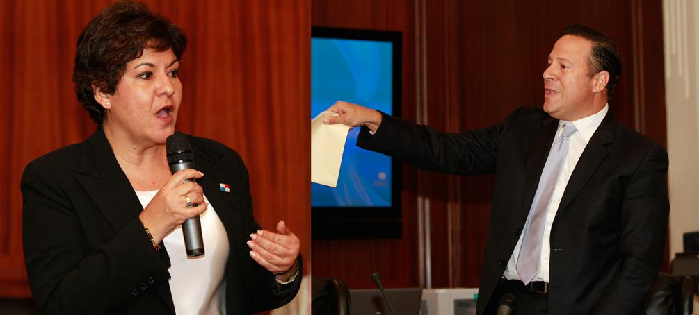 Juan Carlos Varela intenta convertir al Gabinete en tribuna política