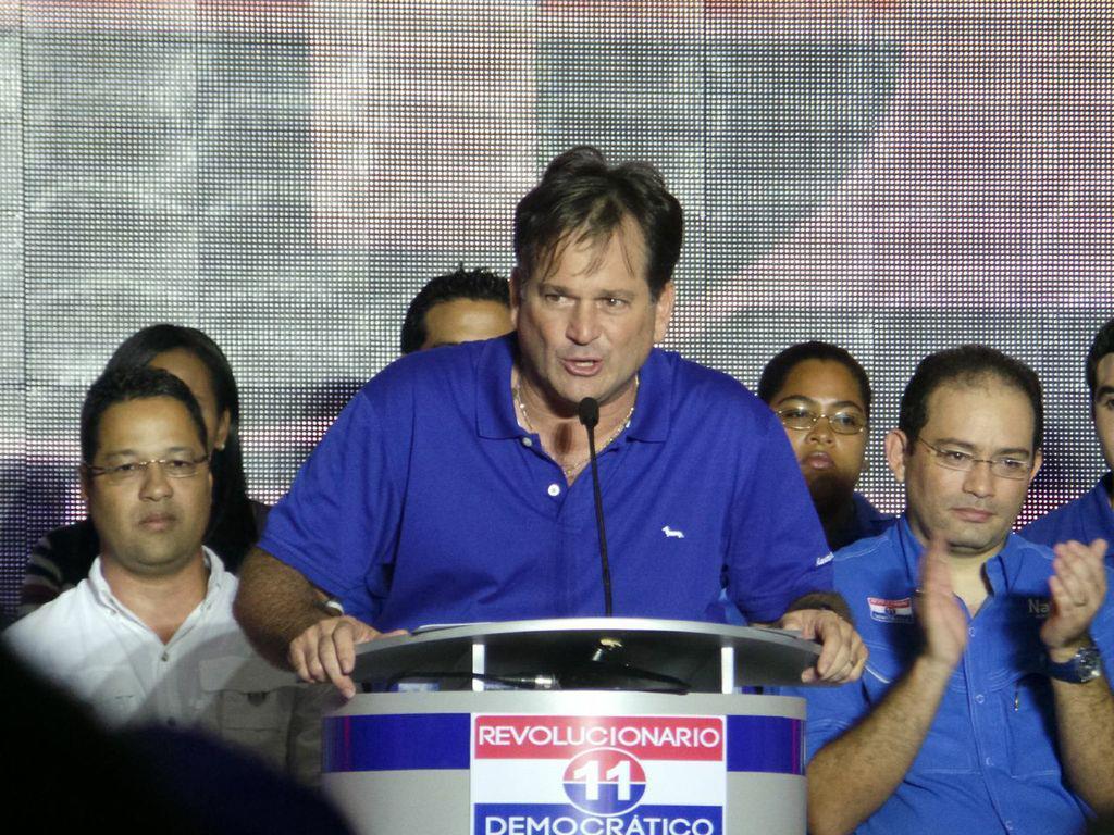 Juan Carlos Navarro será el candidato a Presidente por el PRD