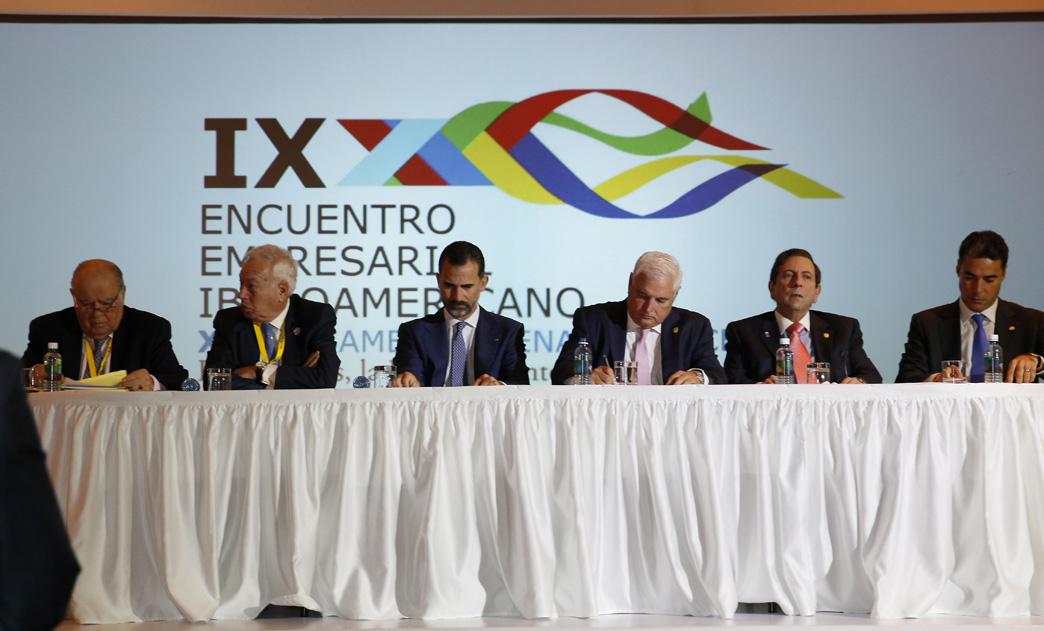 Presidente Martinelli inaugura Encuentro Empresarial Iberoamericano