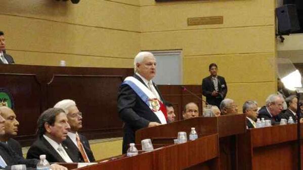 Martinelli discurso a la nación