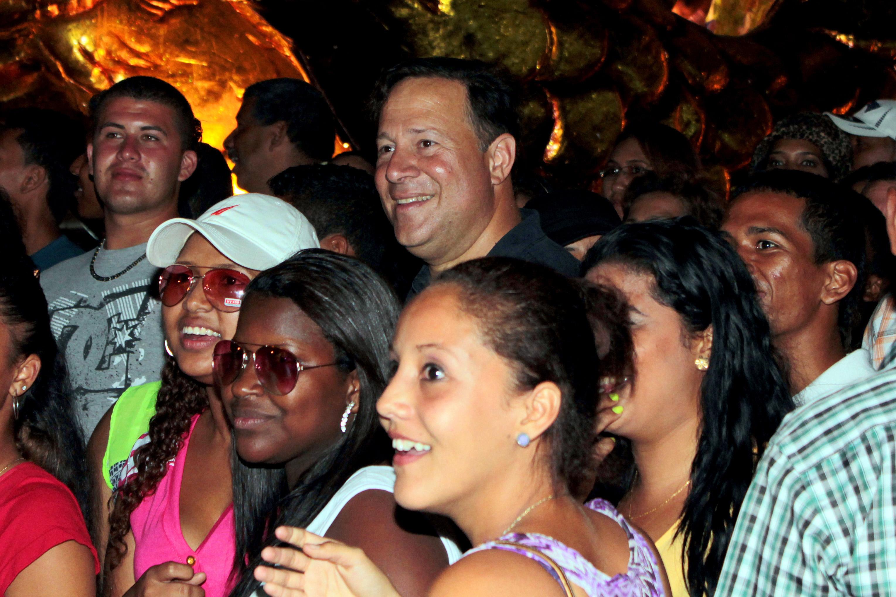 Juan Carlos Varela – Carnavales