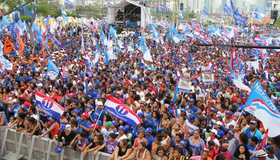 Juan Carlos Navarro Panamá Cierre de campaña