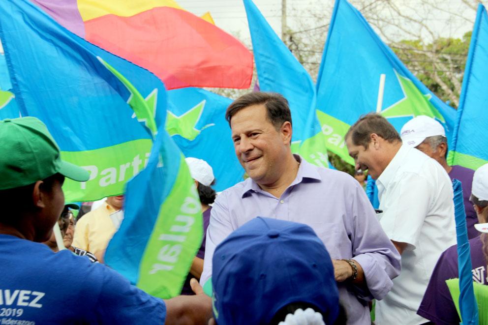 Juan Carlos Varela Partido Panameñista Panamá – visita Chepo
