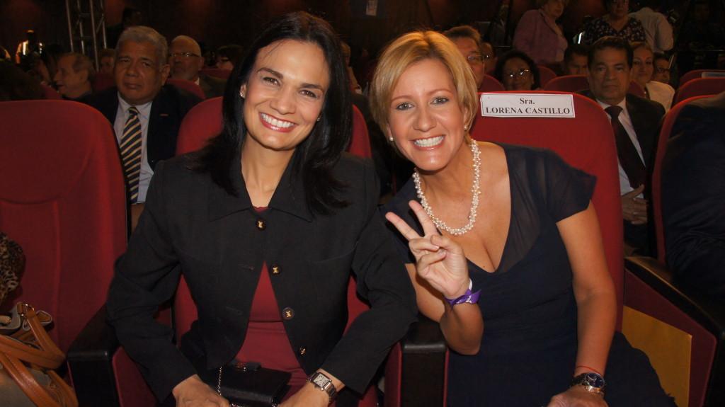 Isabel Saint Malo y Lorena Castilllo de Varela - Panama Partido Panameñista