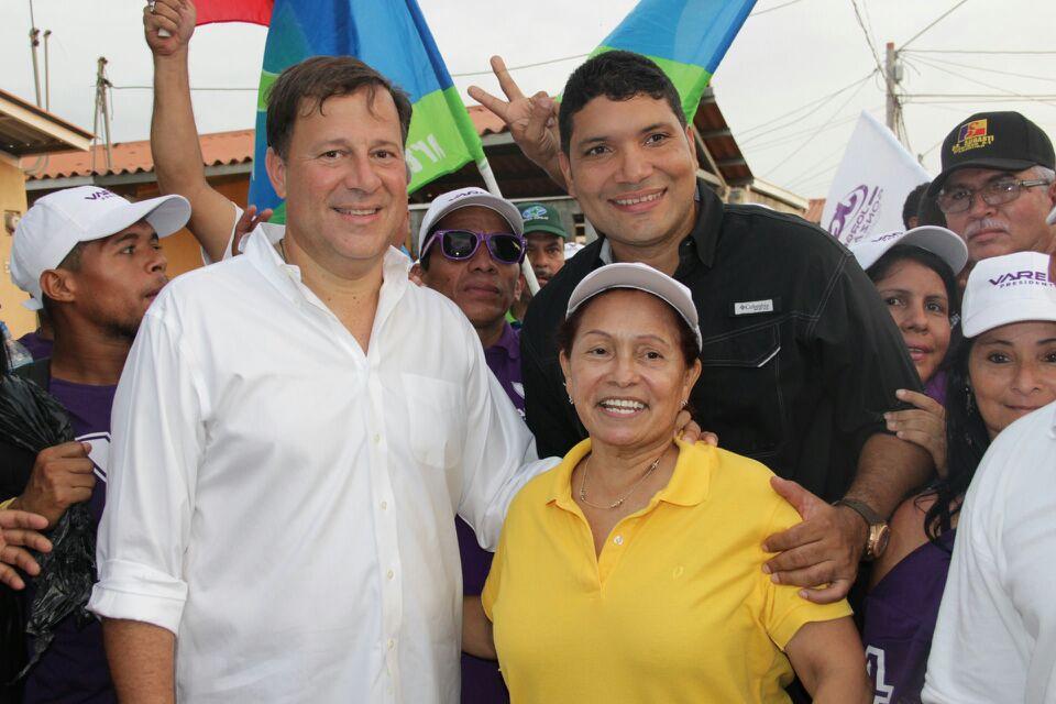 juan-carlos-varela-mayra-zuniga-panama