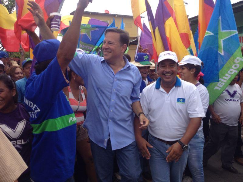 Juan Carlos Varela Partido Panameñista Panama