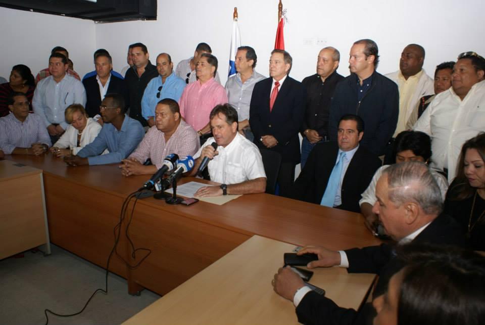 Pronunciamiento Juan Carlos Navarro PRD Panamá