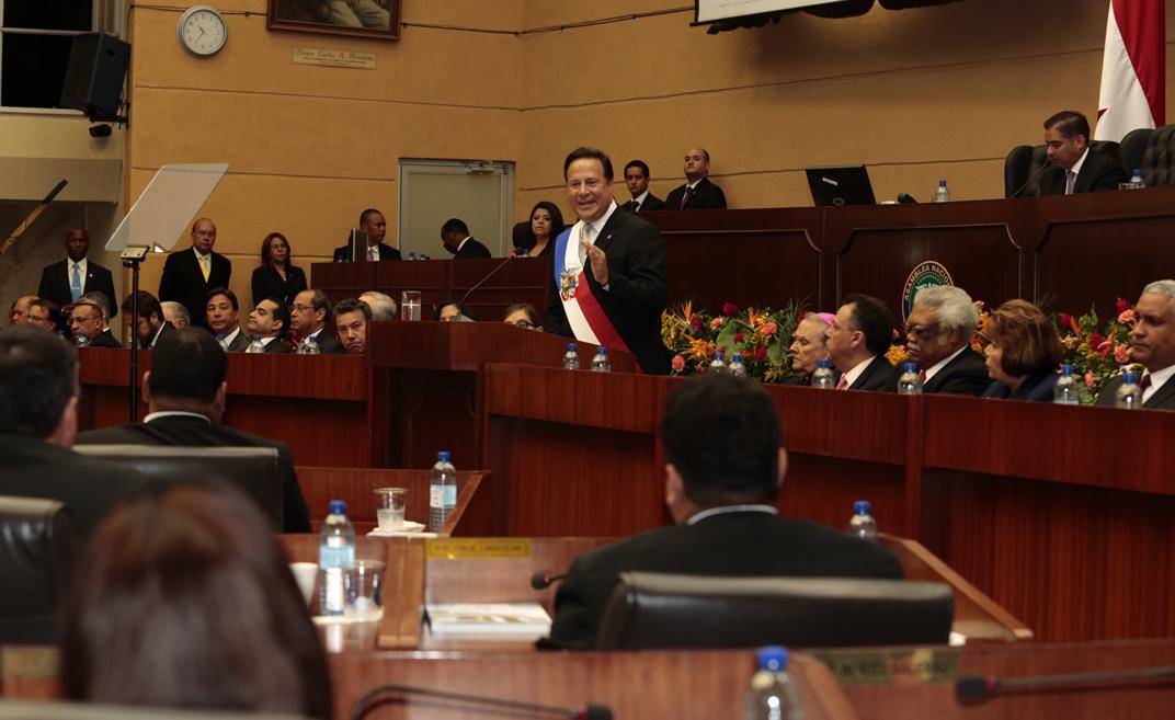 Presidente Juan Carlos Varela Panamá