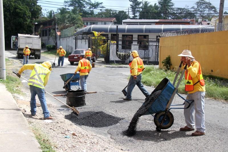 Operativo de Bacheo Parque Lefevre – Panamá 4-2-15