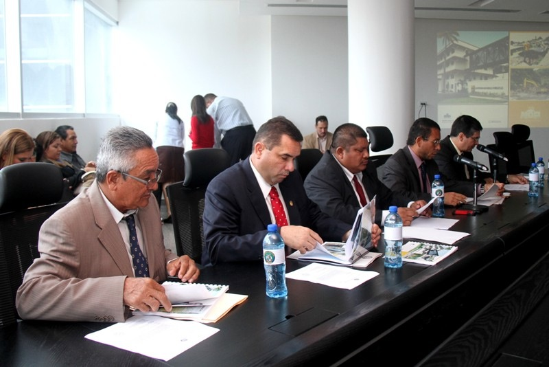 1-Comisión de Infraestructura Asamblea Nacional de Diputados 17-3-15