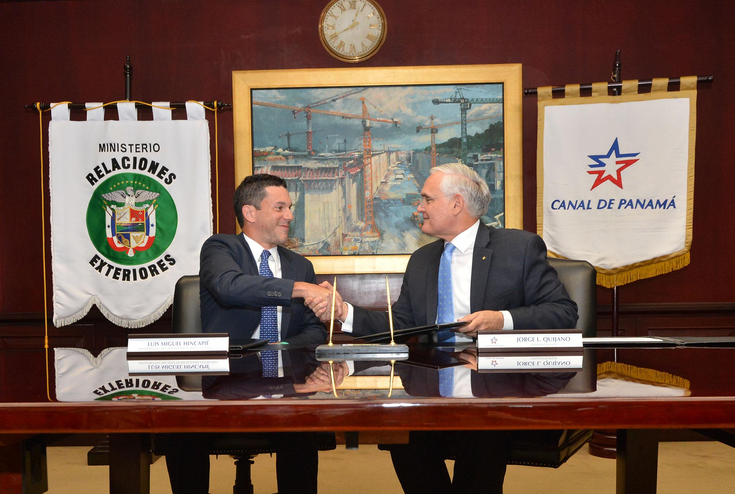Convenio con el Ministerio de Relaciones Exteriores