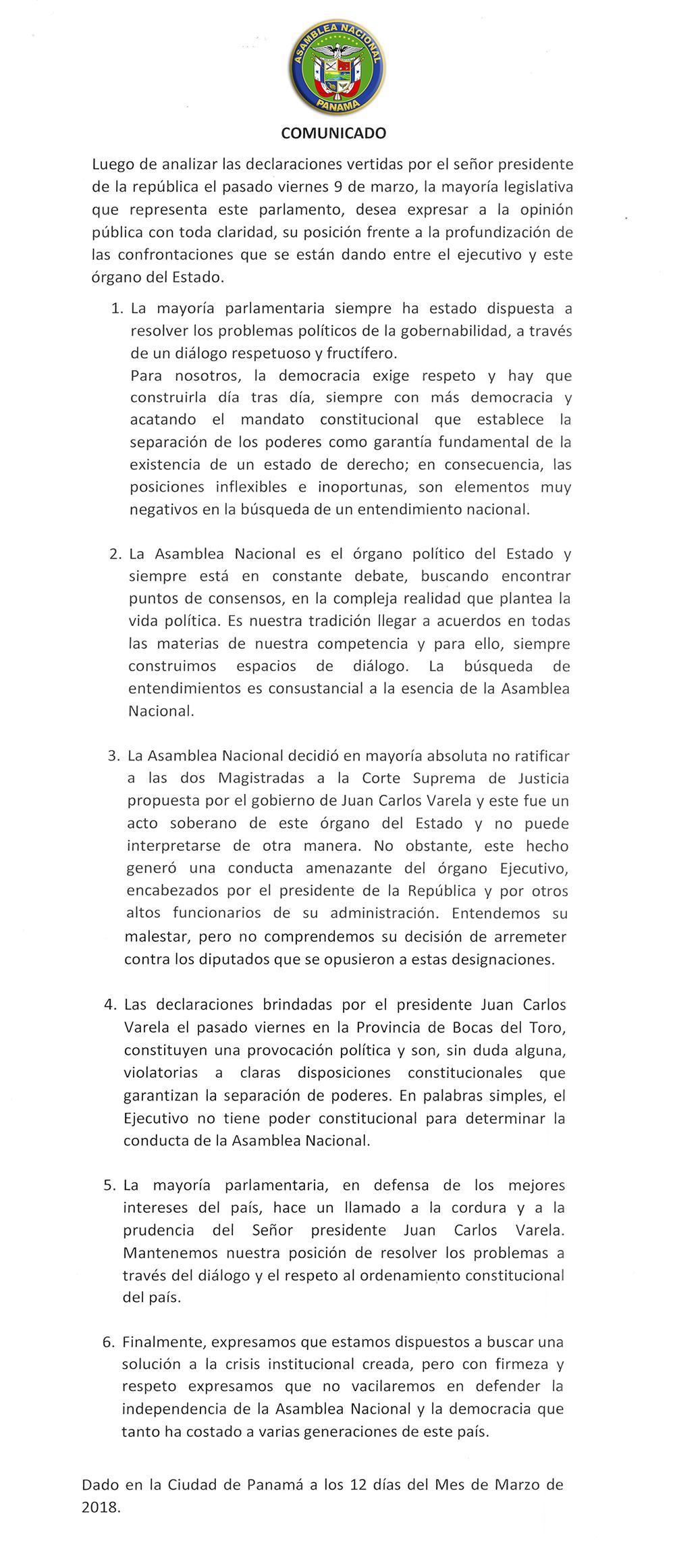 comunicado-asamblea-sobre-presidente