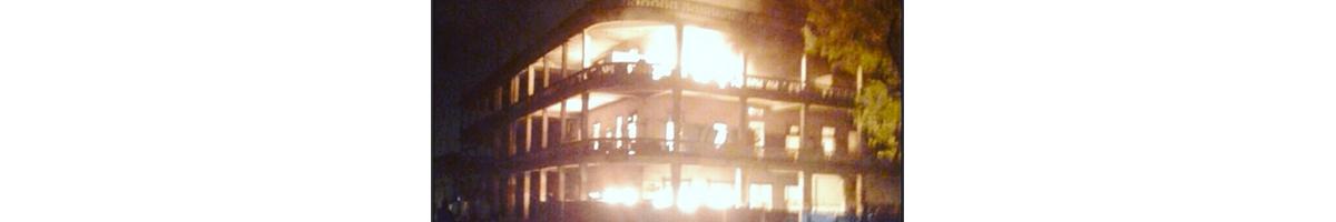 Incendio casa wilcox Colon