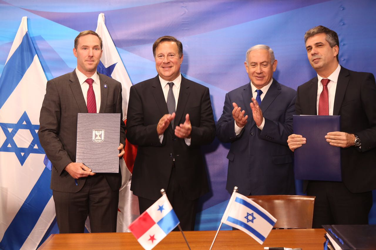 panama-politica-presidente-varela-netanyahu-israel-bilateral