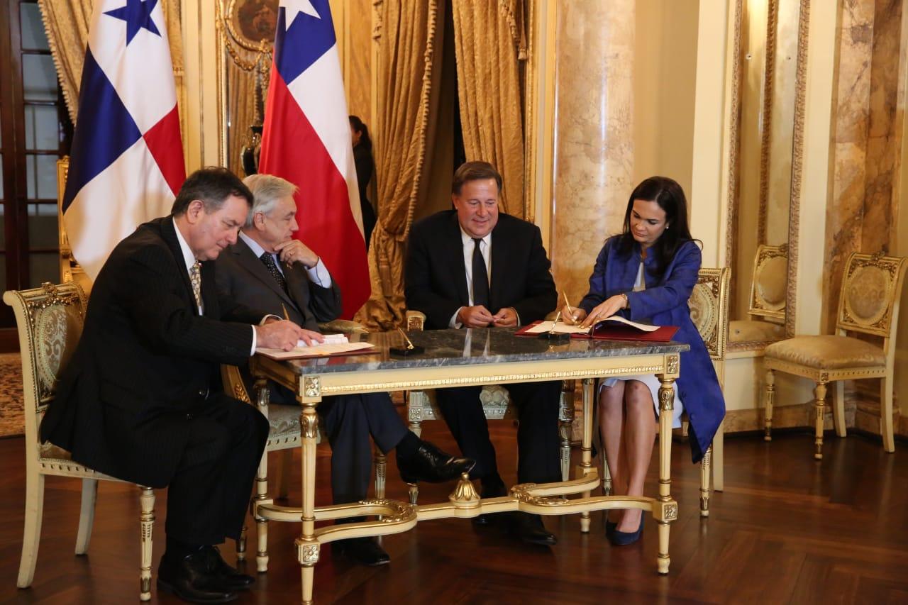 presidente-varela-presidente-pinera-chile-isabel-saint-malo-acuerdo-politica-panama