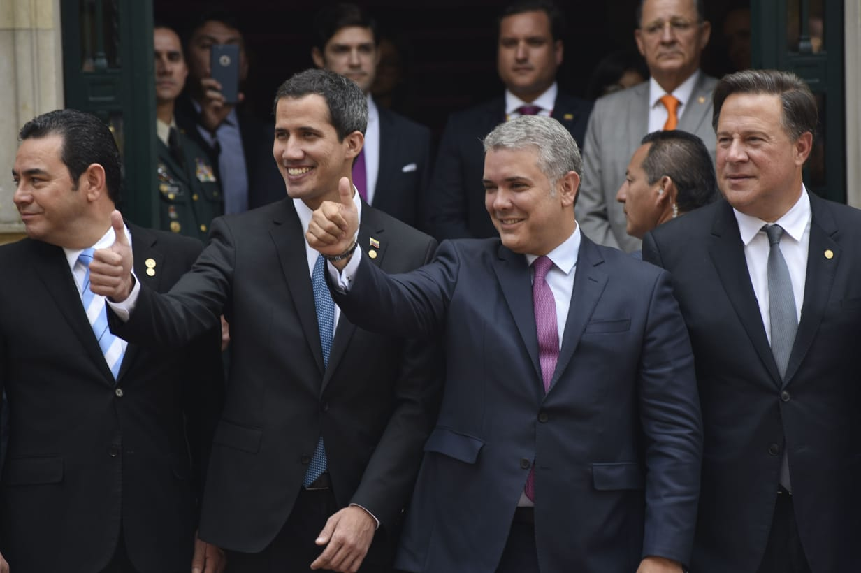 presidentes-venezuela-colombia-panama