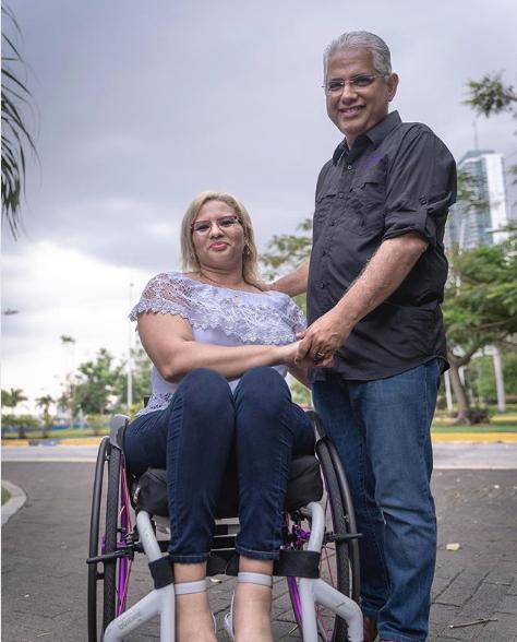 Iveth Valdés y José Isabel Blandón