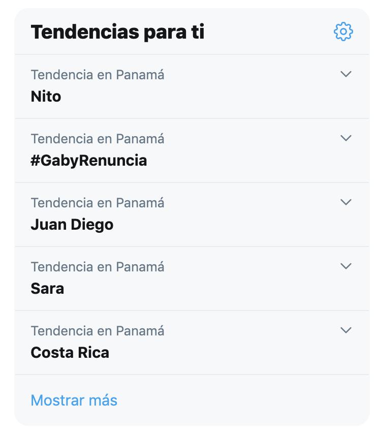 Tendencia - GabyRenuncia