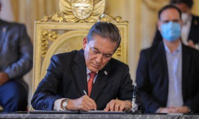 Presidente Laurentino Cortizo sanciona acuerdo de moratoria con la banca